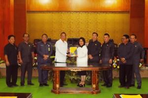 Wali Kota Tomohon Jimmy F Eman SE Ak apresiasi DPRD Tomohon