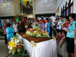 Perayaan HUT ke-5 GMIM Bukit Moria Rurukan