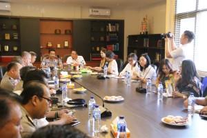 Wali Kota Tomohon Presentasi TIFF kepada Gubernur dan Kapolda Sulut