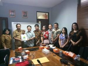 Komisi I DPRD Tomohon dan Pemkot Bandung