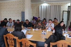 Rapat pembahasan Banggar dan TAPD