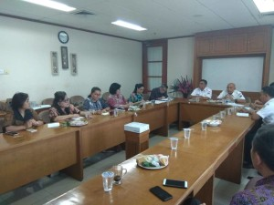 Kunker Komisi III DPRD Tomohon di Suku Disnakertrans Jakarta Barat