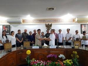 Komisi II DPRD Tomohon di Serang Banten