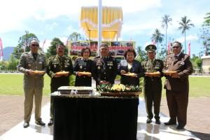 Peringatan HUT ke-72 Bhayangkara di Kota Tomohon