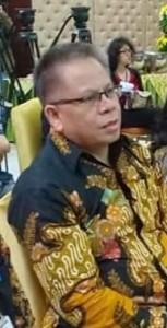 Drs Gerardus E Mogi, Kepala Badan Keuangan Daerah