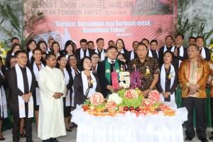 Perayaan HUT ke-150 GMIM Imanuel Walian