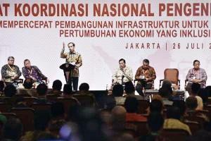 Presiden Joko Widodo saat membuka kegiatan