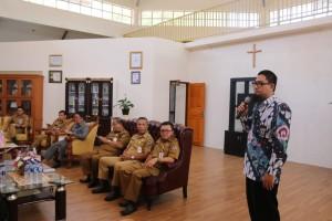 Tim dari KPK memaparkan cara pencegahan korupsi