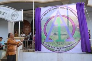 Sekretaris Daerah Tomohon Melauching Logo HUT ke-1 Wilayah Tomohon Empat