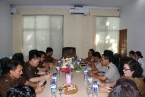 Pemkot Tomohon bersama Tim PPA Kejagung dan instansi terkait