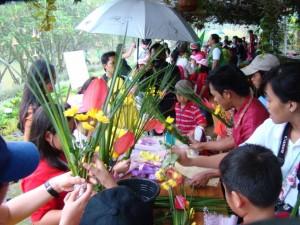 Rekor MURI Merangkai Bunga terbanyak akan dipecahkan di TIFF 2018