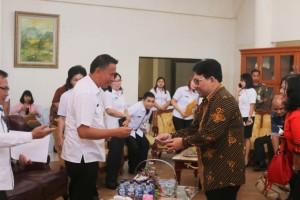Wali Kota Tomohon menerima kunjungan Ombudsman RI