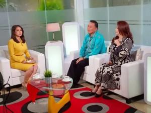 Wali Kota dan Ketua Panitia TIFF di TVRI Jakarta