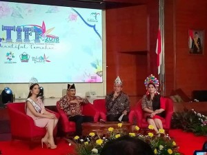 Press Conference TIFF di Kementerian Pariwisata