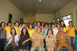Wali Kota Tomohon, bersama jajaran dan peserta kegiatan
