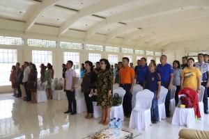 Para peserta Sosialisasi Pemanfaatan Sertifikat Elektronik dan Implementasi Call Center 112