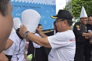 Bitung Sukses Gelar Lomba Masak Ikan Nusantara 20181