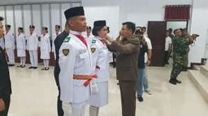 Bupati Minahasa, Drs Royke H Mewoh DEA, Paskibra Minahasa