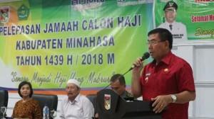Calon Haji Minahasa, Drs Royke H Mewoh DEA,