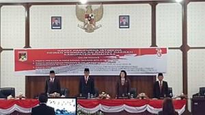 Bupati Minahasa. Drs Royke H Mewoh DEA,  DPRD Minahasa ,  Pidato Kenegaraan Presiden RI