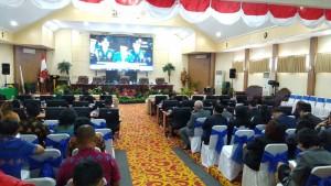 GSVL-Mor Hadiri Sidang Paripurna DPRD Kota Manado Mendengarkan Pidato Presiden