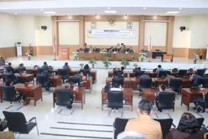 DPRD Minsel Laksanakan Paripurna Penandatanganan Persetujuan Bersama KUPA dan PPAS-Perubahan Tahun Anggaran 20183