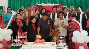GMIM Wilayah Mandolang Dua,  Drs Royke H Mewoh DEA,
