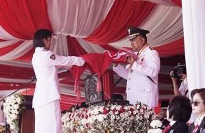 Olly Irup HUT RI ke-73 Tingkat Provinsi Sulut