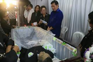 GSVL Hadiri Ibadah Pemakaman Almarhum Josef Kalengkongan