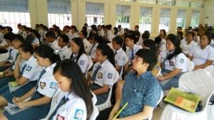Siswa SMA peserta sosialisasi