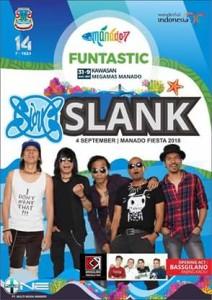 Grup Band Slank, Manado Fiesta 2018, GS Vicky Lumentut , Mor Bastiaan,
