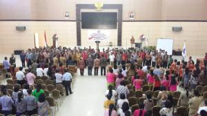 Pelantikan Pengurus IKISST 2018-2023, Gubernur Sulut: Tunjukkan Kita Adalah Masyarakat Cerdas dan Berbudaya