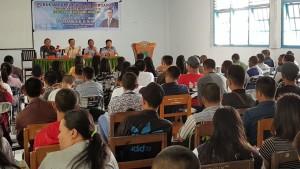 Mahasiswa ITM mendapat kuliah umum dari Senator SBAN Liow