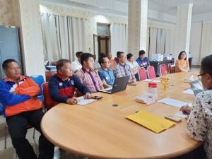 Pengurus Cabang Olahraga yang ikut rapat pemantapan