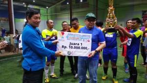 Journalist Futsal Competition 2018, Manado Fiesta 2018,  IWO Manado, Frans Mawitjere,GS Vicky Lumentut,