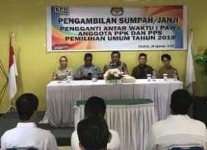 KPU Minahasa Tenggara, PPS ,  Irfan Rabuka