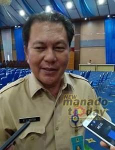 Kadis Dinkes Kota Manado, Dinkes Kota Manado,  dr Robby J.Motto,