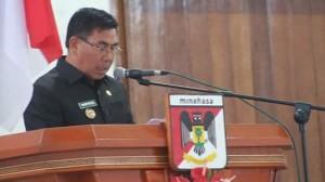 LPJ APBD 2017 , LPJ APBD 2017 minahasa, DPRD Minahasa