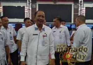 Manado Fiesta 2018, karnaval Fisco , Asisten II Pemkot Manado. Rum Usulu
