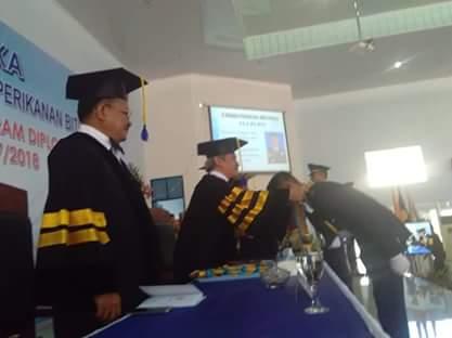 Wakil Walikota Bitung, Ir Maurits Mantiri MM , Politeknik Perikanan dan Kelautan Bitung