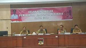 Bupati Minahasa ,Drs Royke H Mewoh DEA,
