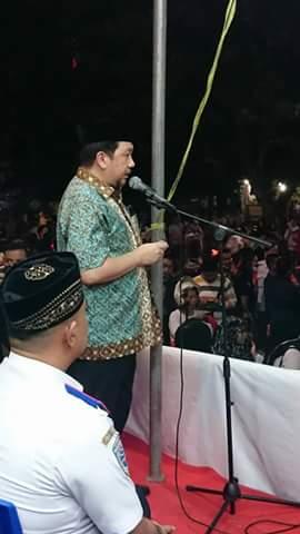 Mor bastiaan, Pawai Takbiran ,Boulevard