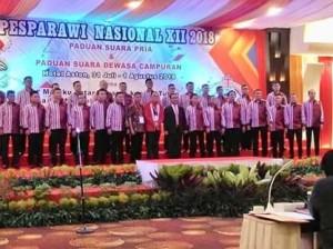 Mitra Male Choir,Paduan Suara Gerejawi, pesparawi Nasional 2018