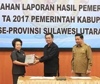Pemkot Manado Berhasil Raih Opini WTP Atas LKPD 2017