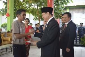 Peringatan HUT RI ke-73 di Kota Bitung Berlangsung Khidmat3