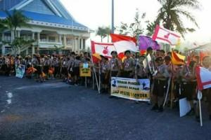 Perkemahan Pramuka ,Kwartir Cabang Minahasa ,  Robby Wongkar,