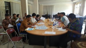 RDP Komisi II DPRD Tomohon dengan instansi teknis soal TIFF