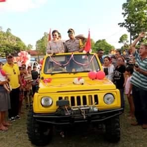 Sukses, Perayaan HUT Proklamasi RI ke 73 di Minsel