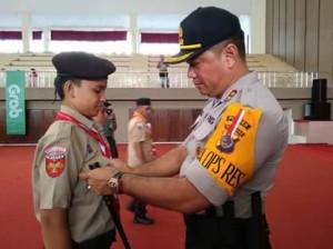 Wakili Bupati, Pusung Buka Perkemahan Pramuka Se-Kwartir Cabang Minahasa Tahun 2018