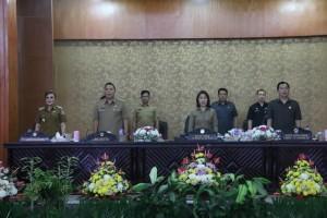 DPRD Tomohon Gelar Rapat Paripurna Pemandangan Umum Fraksi tentang Perubahan APBD 2018